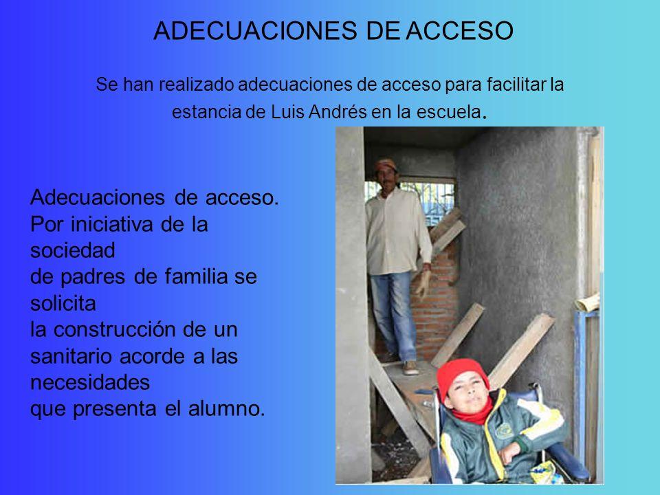 ADECUACIONES DE ACCESO