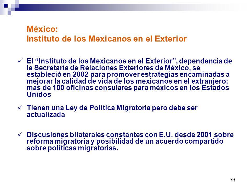 México: Instituto de los Mexicanos en el Exterior
