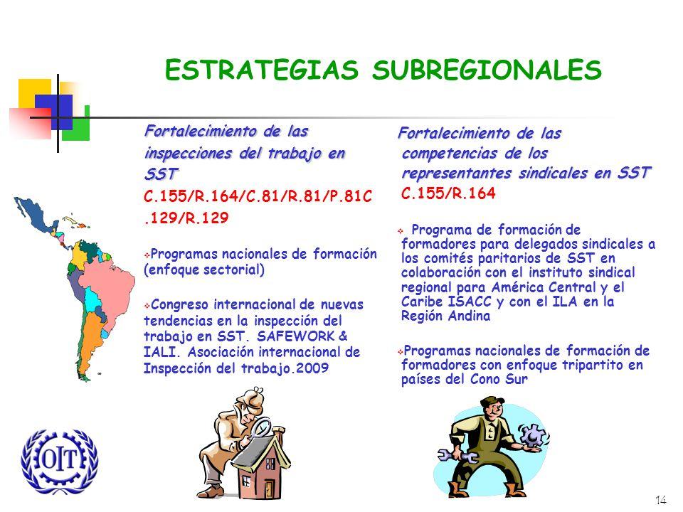 ESTRATEGIAS SUBREGIONALES