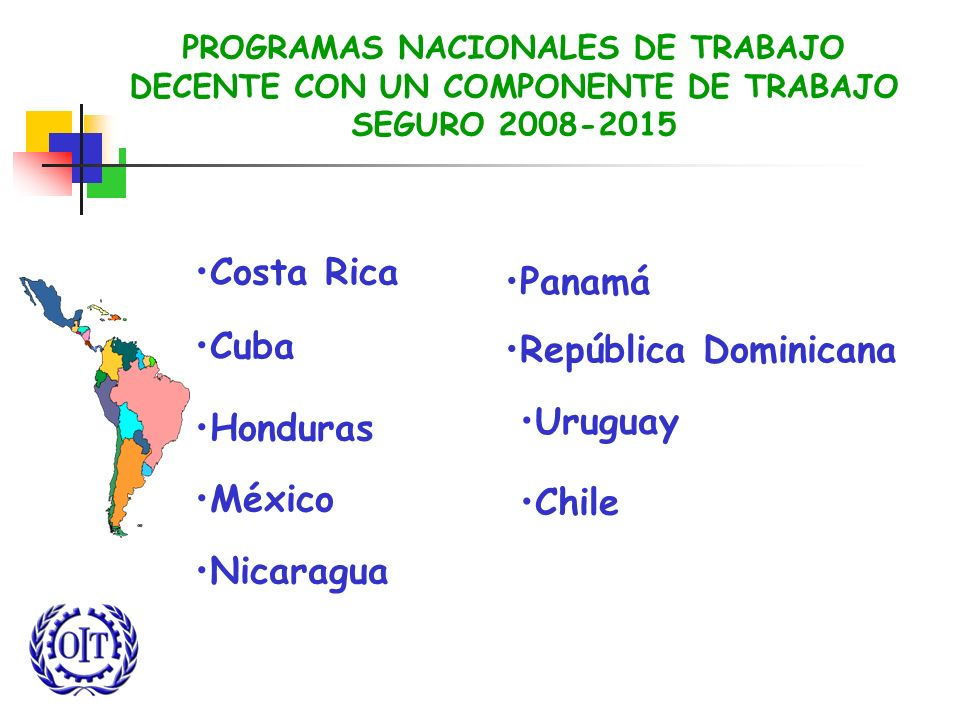 Costa Rica Cuba Panamá República Dominicana Honduras México Nicaragua