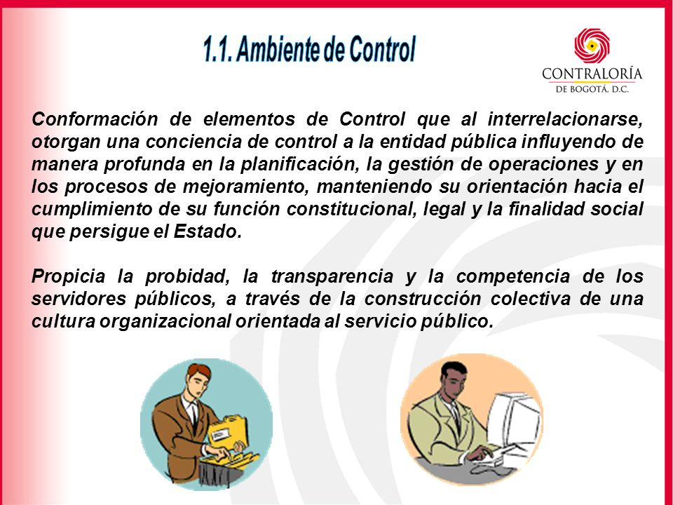 1.1. Ambiente de Control