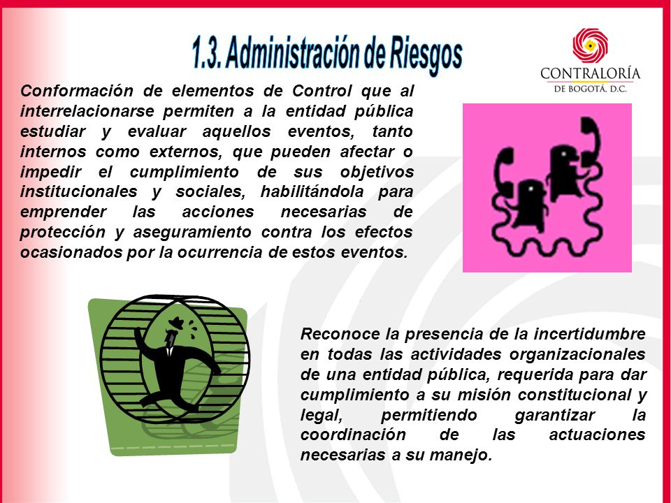 1.3. Administración de Riesgos