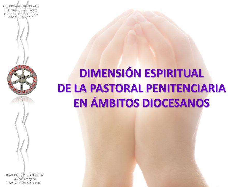 DE LA PASTORAL PENITENCIARIA EN ÁMBITOS DIOCESANOS