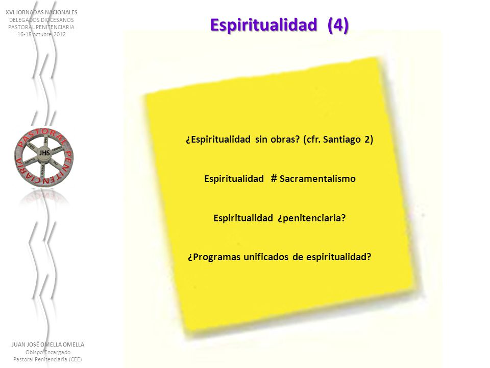 Espiritualidad (4) ¿Espiritualidad sin obras (cfr. Santiago 2)