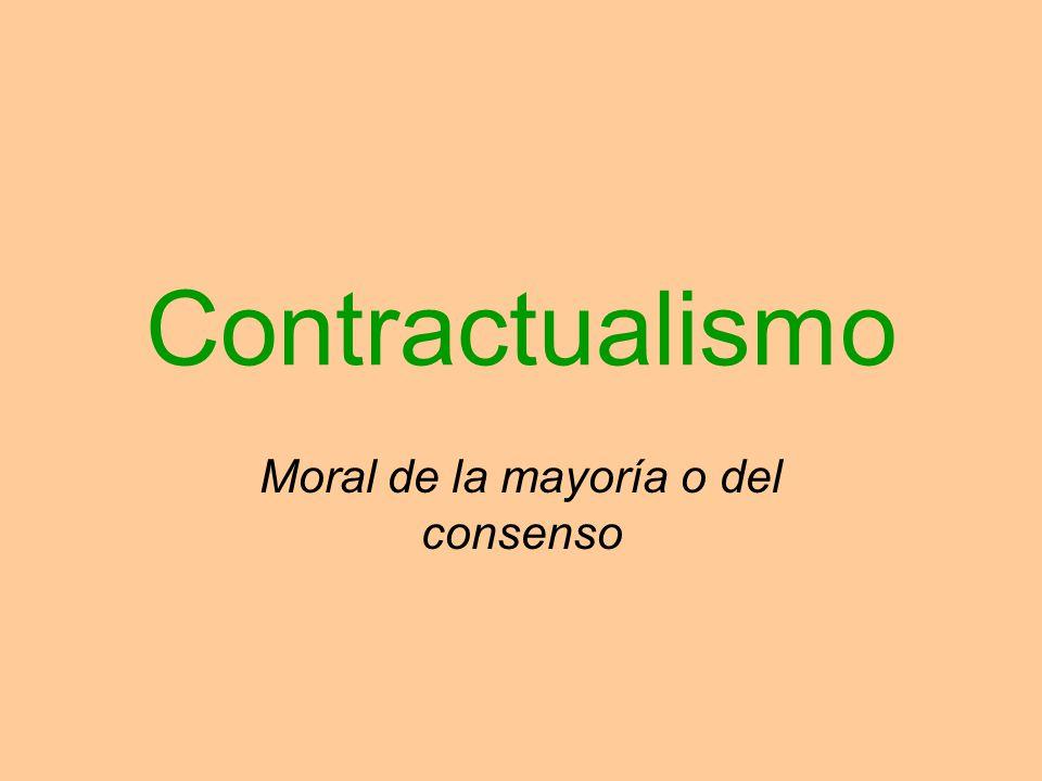 Moral de la mayoría o del consenso