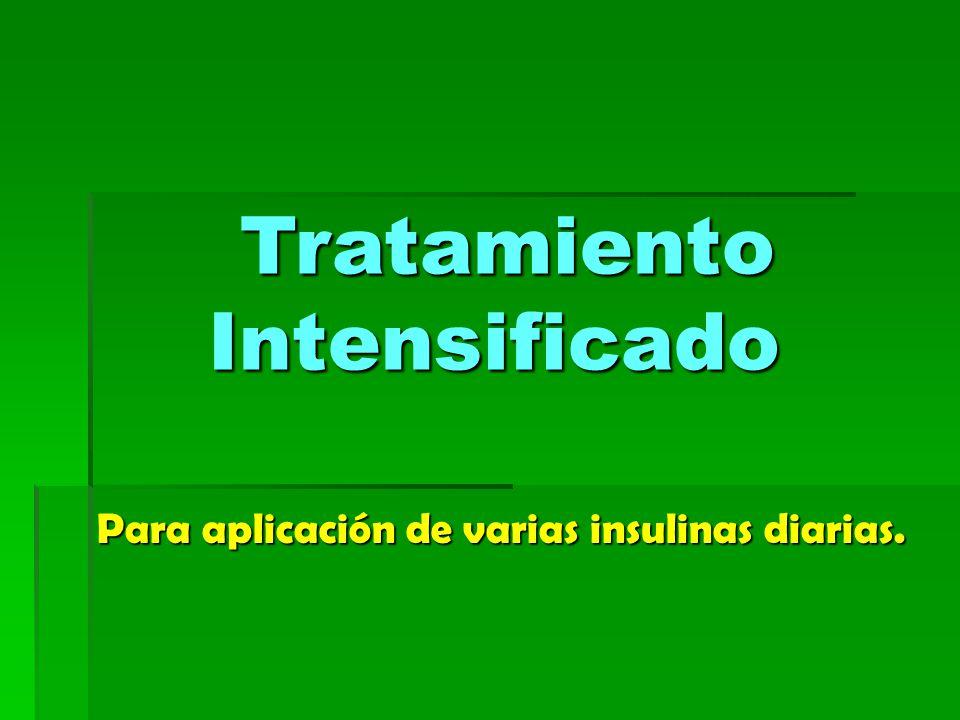 Tratamiento Intensificado