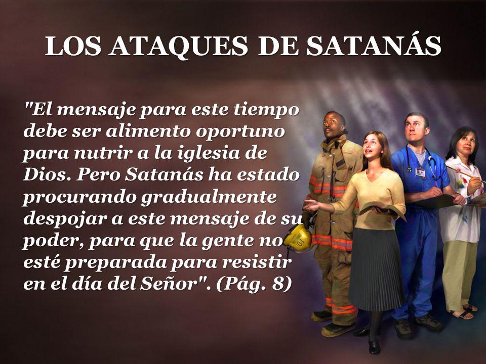 LOS ATAQUES DE SATANÁS