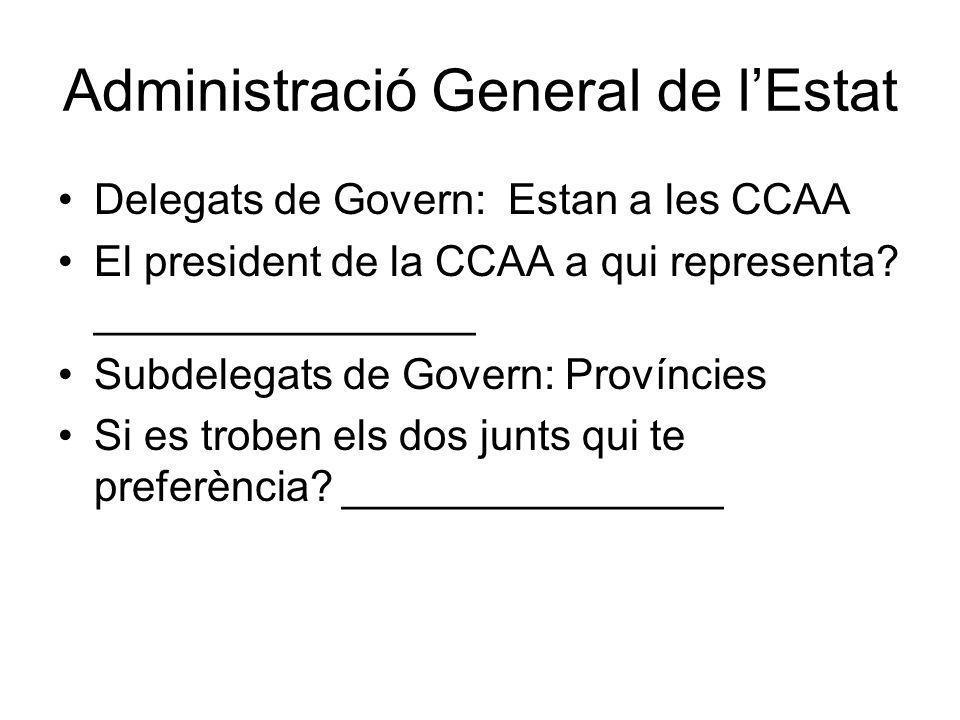 Administració General de l'Estat