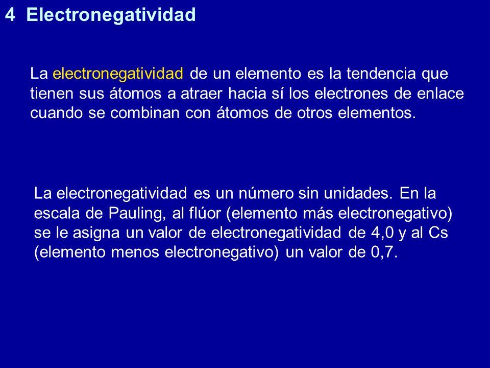 4 Electronegatividad