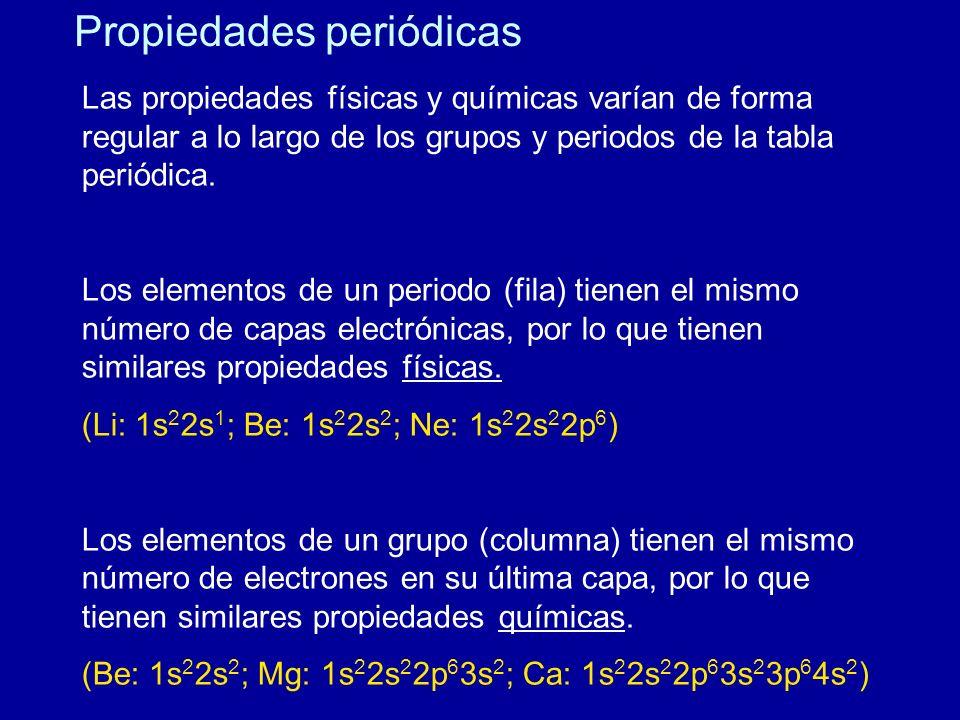 Tabla peridica propiedades peridicas ppt video online descargar grupos de la tabla peridica 4 propiedades peridicas urtaz Image collections