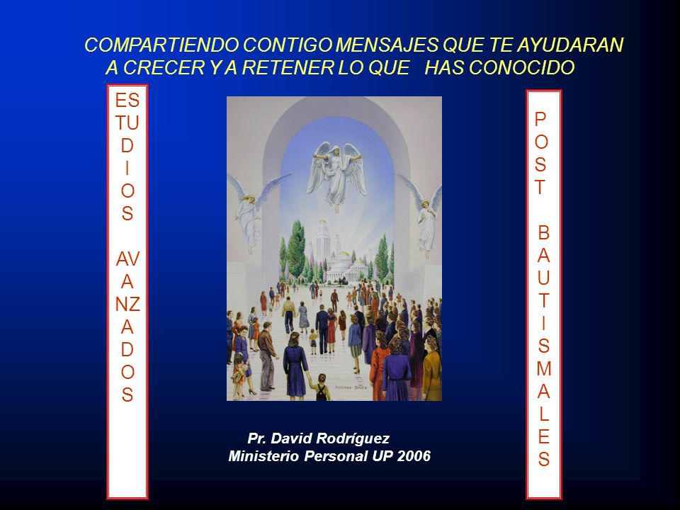 Ministerio Personal UP 2006