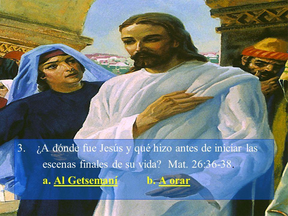 ¿A dónde fue Jesús y qué hizo antes de iniciar las