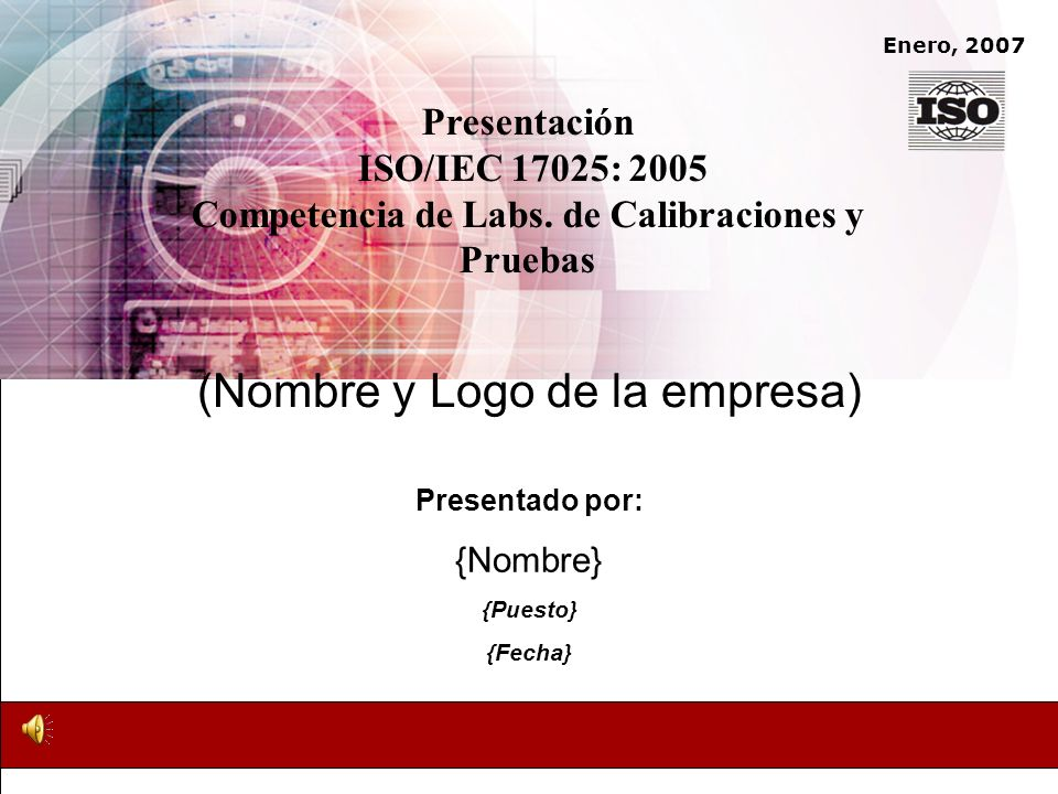 (Nombre y Logo de la empresa)