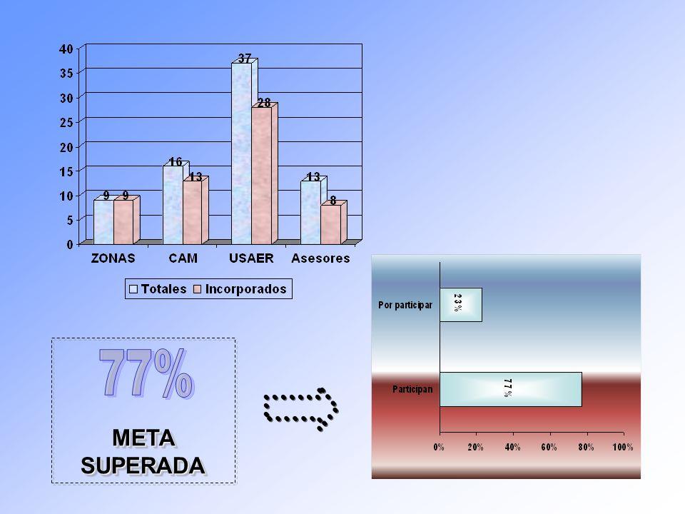 META SUPERADA 77%