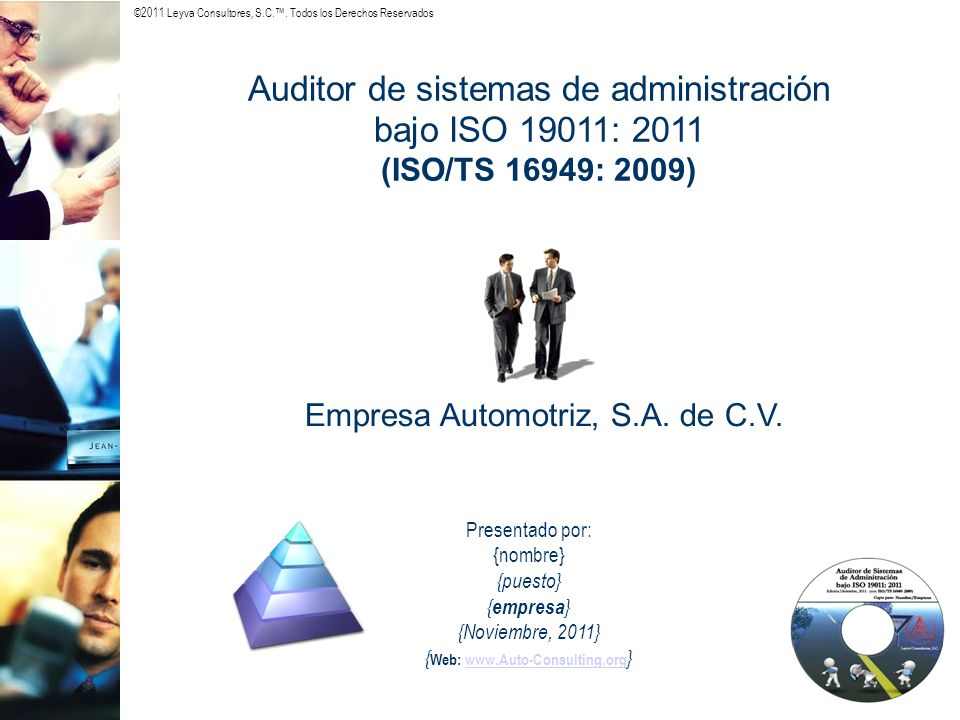 ...Requerimientos de ISO/TS 16949: 2009...
