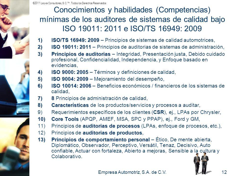 Empresa Automotriz, S.A. de C.V.