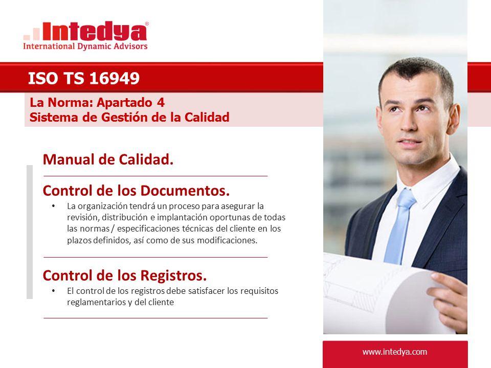 Control de los Documentos.