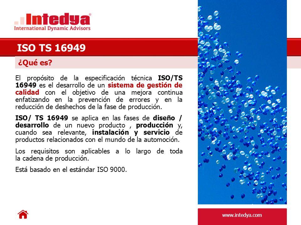 ISO TS 16949 ¿Qué es