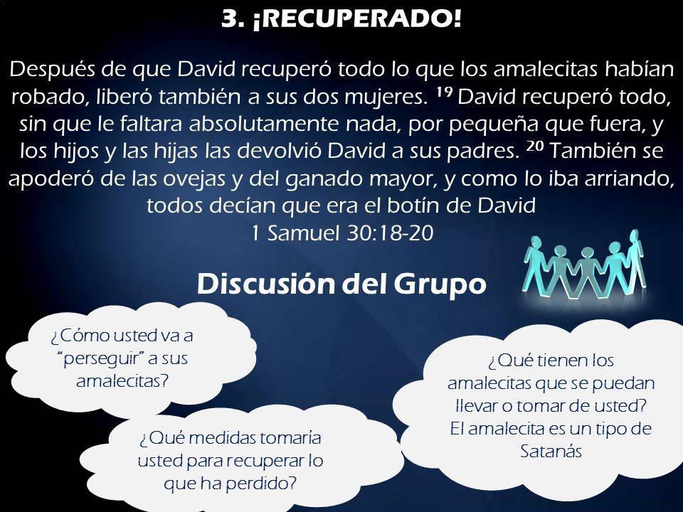 Discusión del Grupo 3. ¡RECUPERADO!