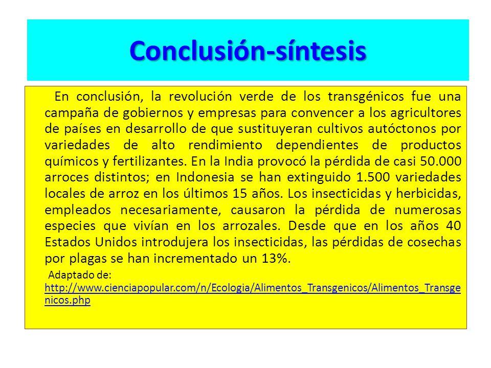 Conclusión-síntesis