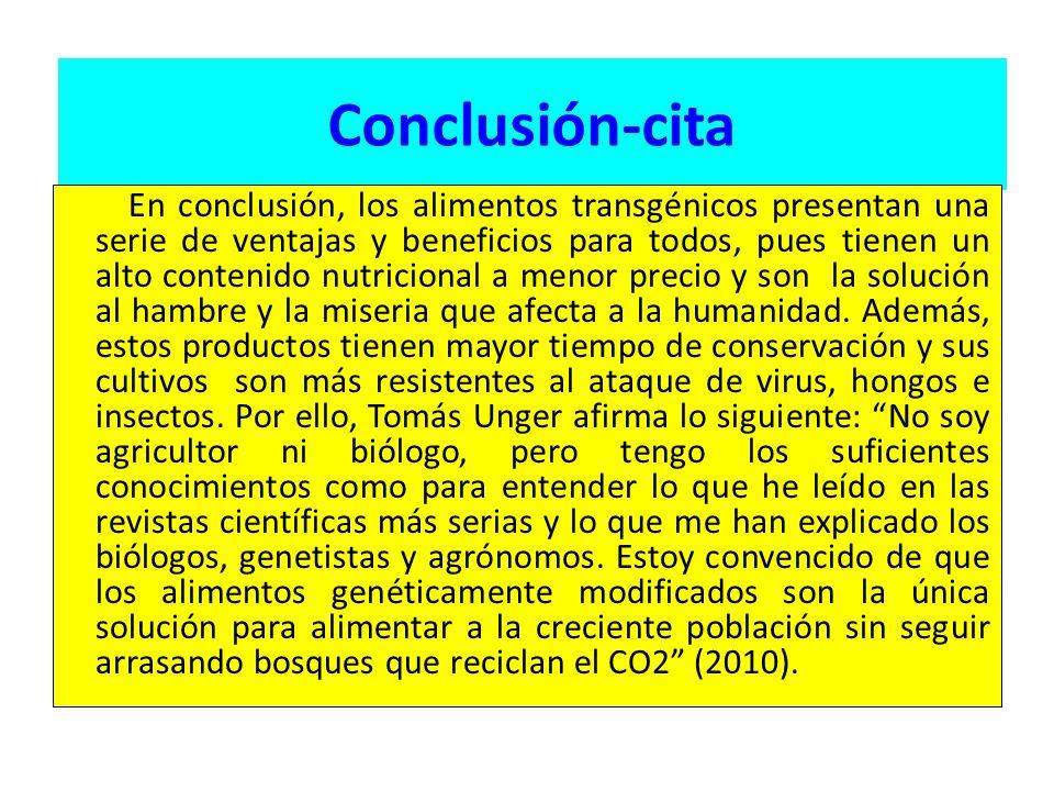 Conclusión-cita