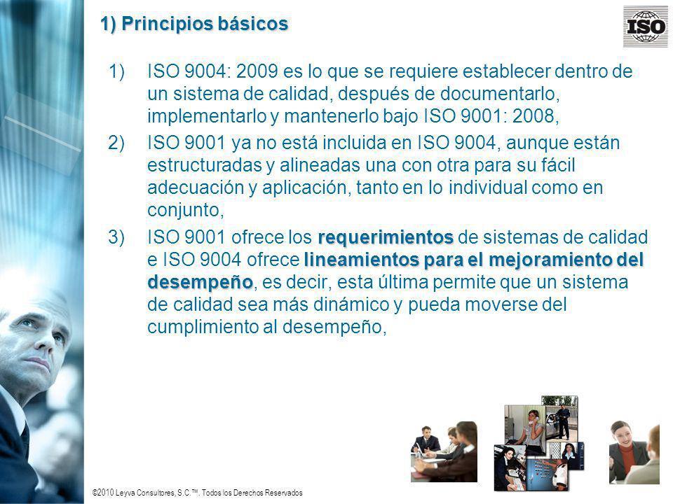 1) Principios básicos