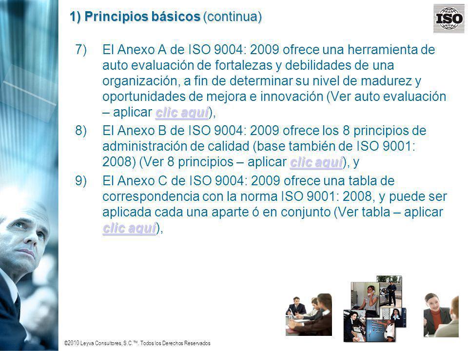 1) Principios básicos (continua)