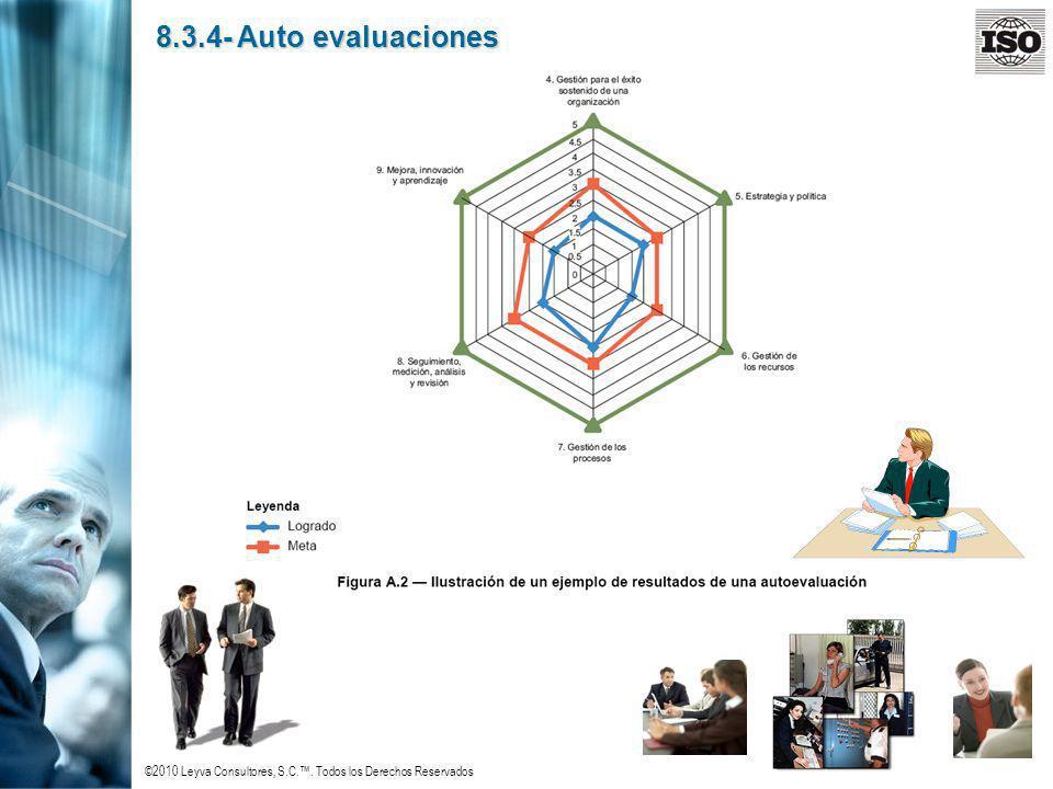 8.3.4- Auto evaluaciones
