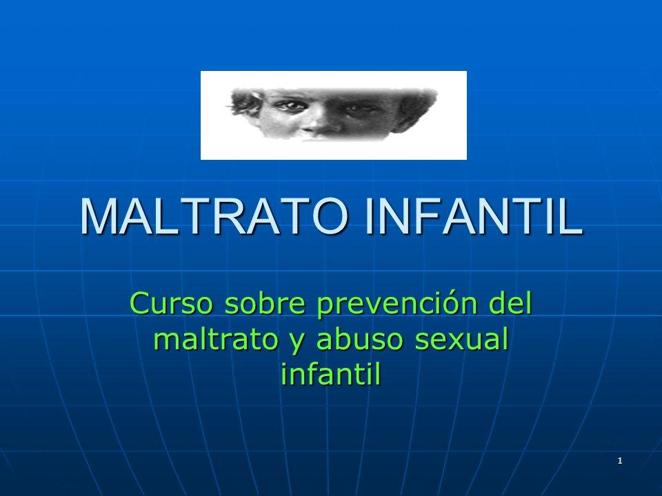 Curso sobre prevención del maltrato y abuso sexual infantil