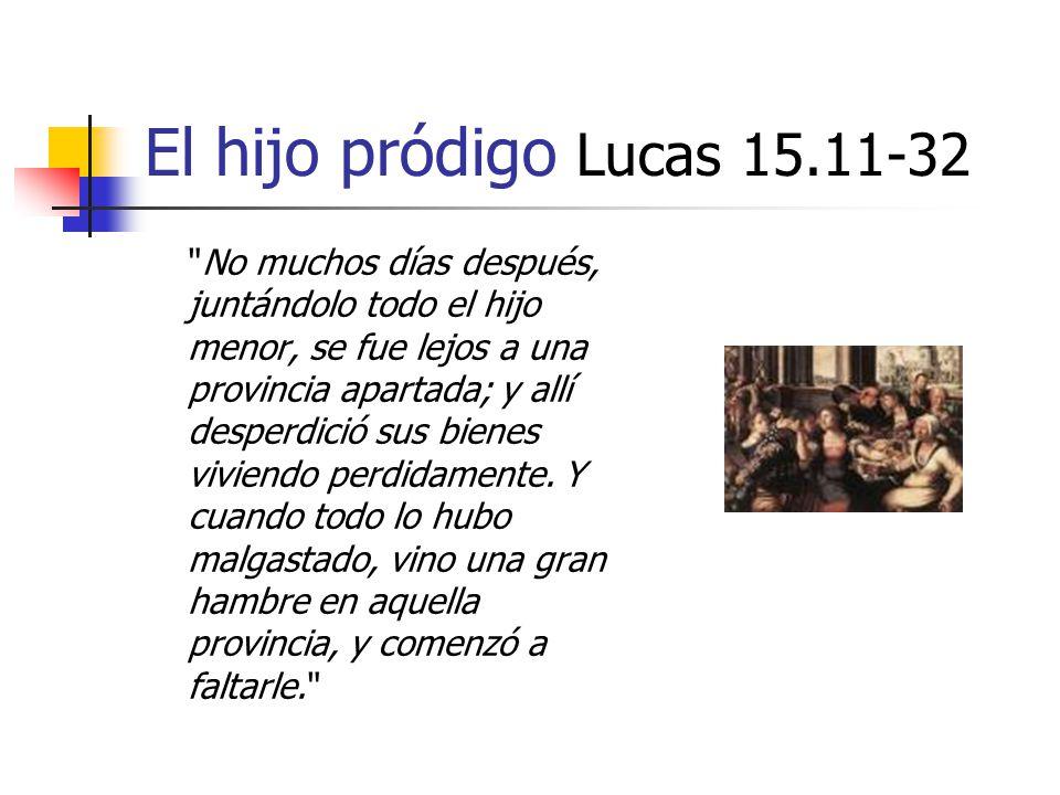 El hijo pródigo Lucas 15.11-32