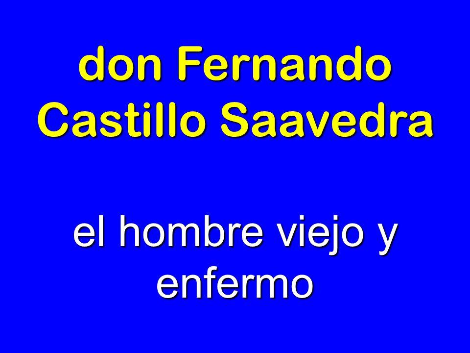 don Fernando Castillo Saavedra