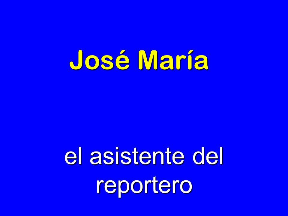 el asistente del reportero