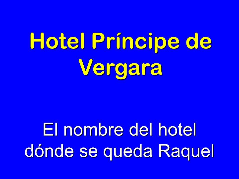 Hotel Príncipe de Vergara