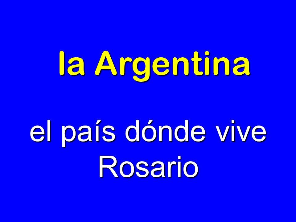 el país dónde vive Rosario