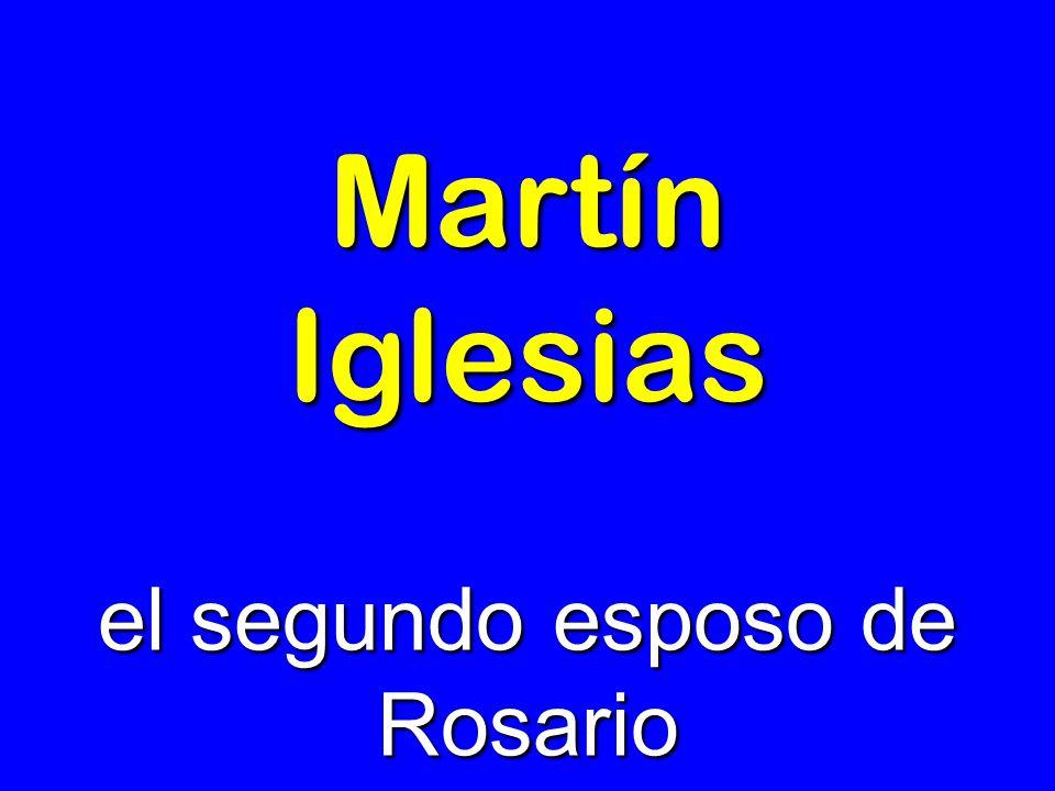 el segundo esposo de Rosario