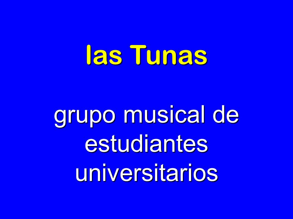 grupo musical de estudiantes universitarios