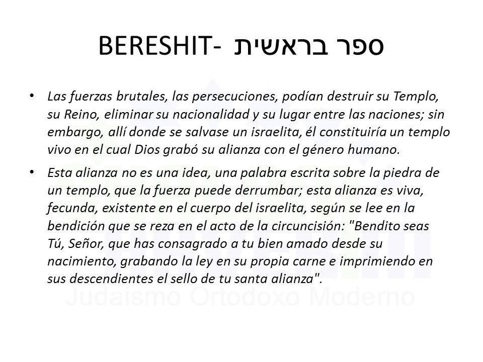 BERESHIT- ספר בראשית