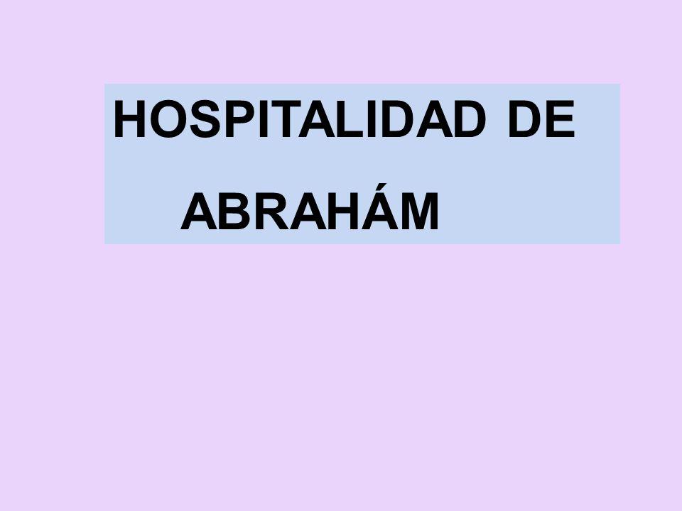 HOSPITALIDAD DE ABRAHÁM