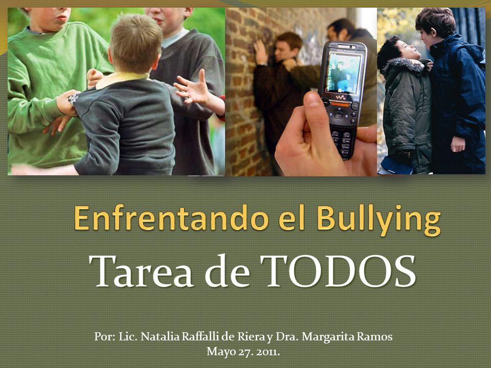 Enfrentando el Bullying