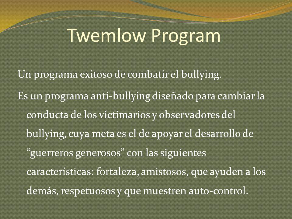 Twemlow Program