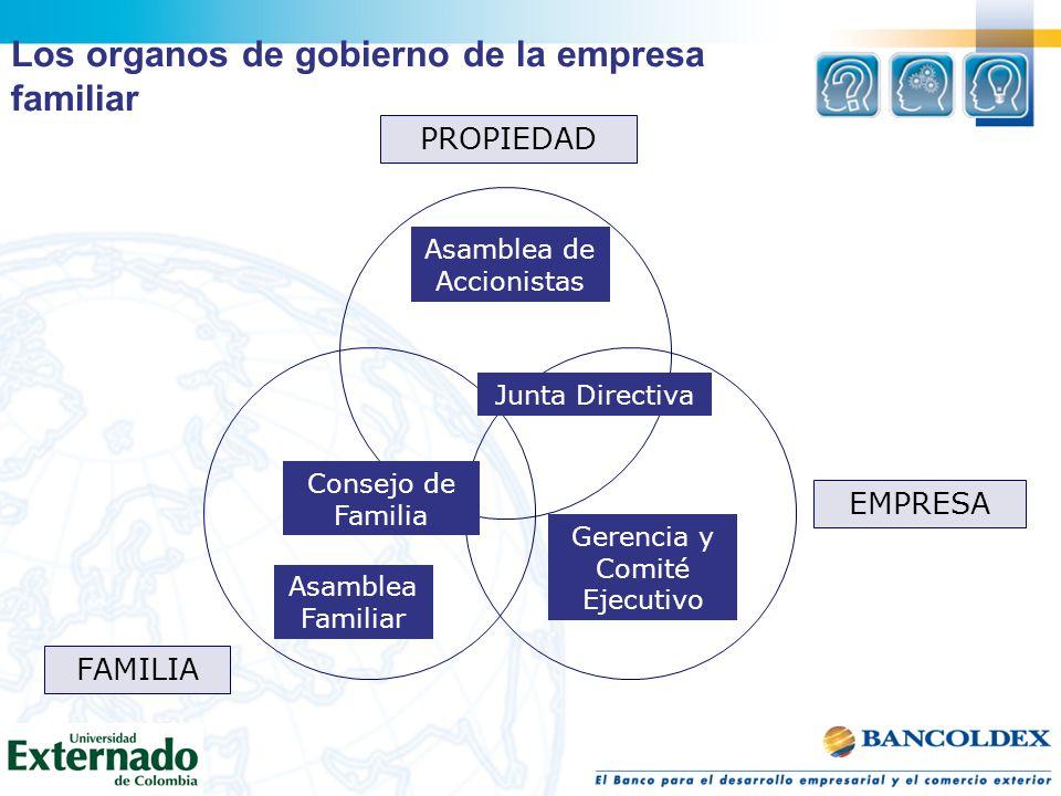 Los organos de gobierno de la empresa familiar