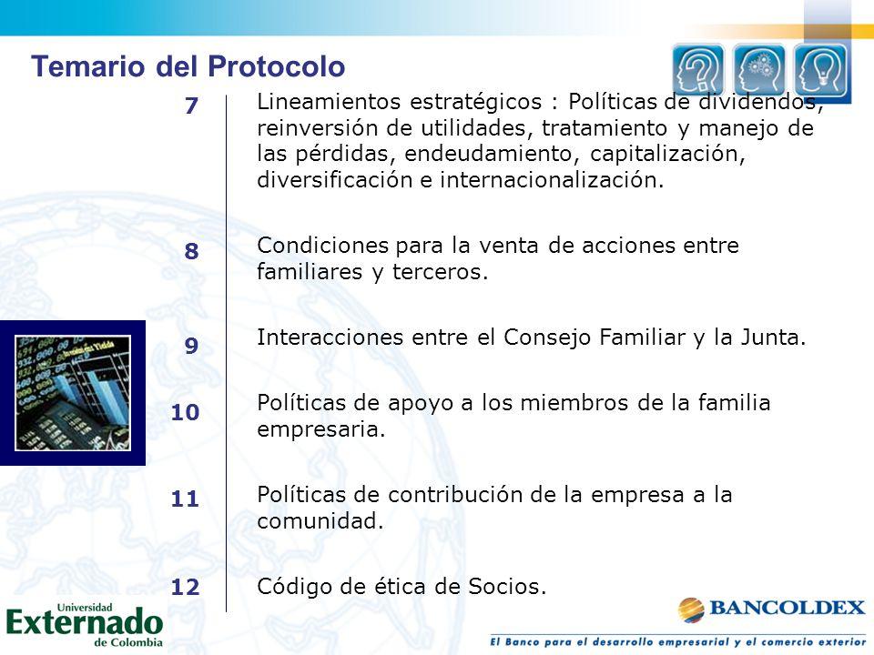 Temario del Protocolo 7.