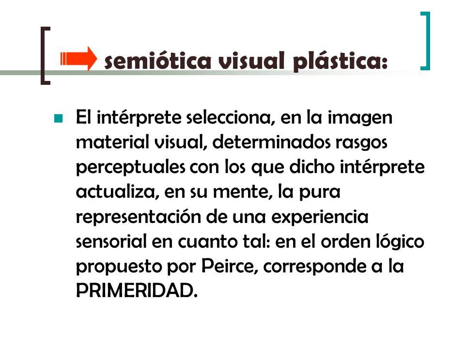 semiótica visual plástica: