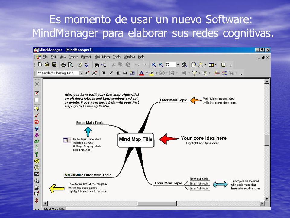 Es momento de usar un nuevo Software: