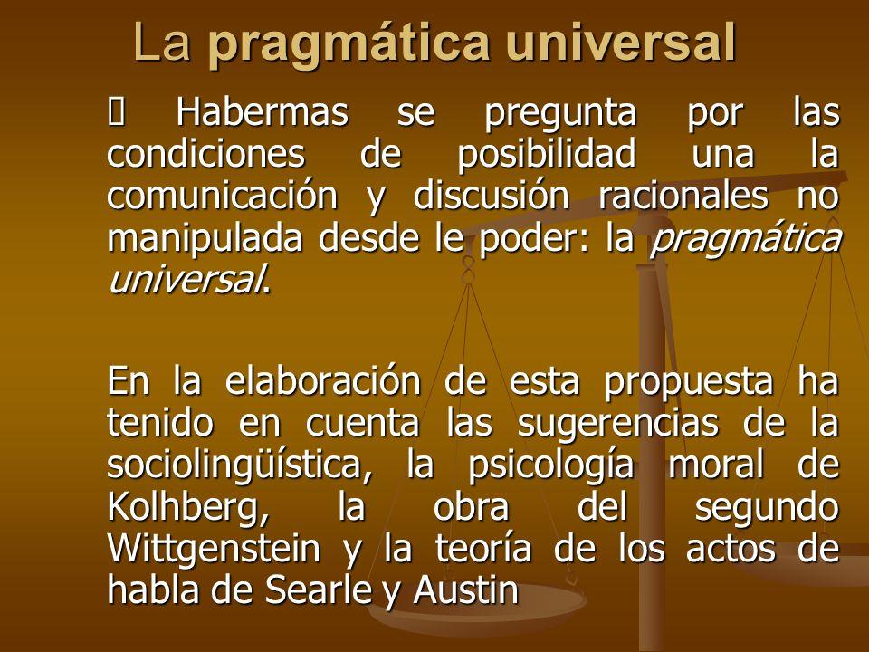 La pragmática universal