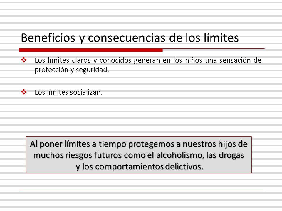 Beneficios y consecuencias de los límites