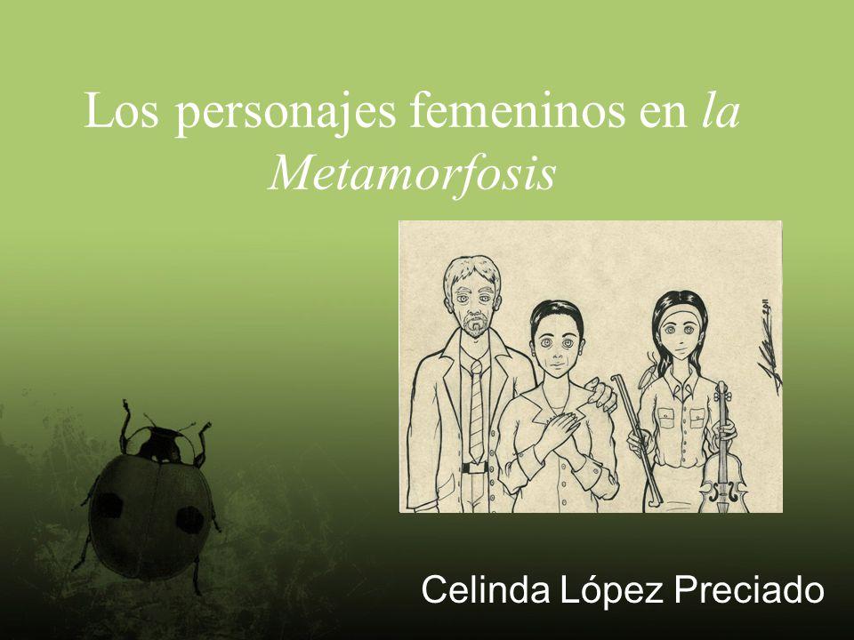 Los personajes femeninos en la Metamorfosis