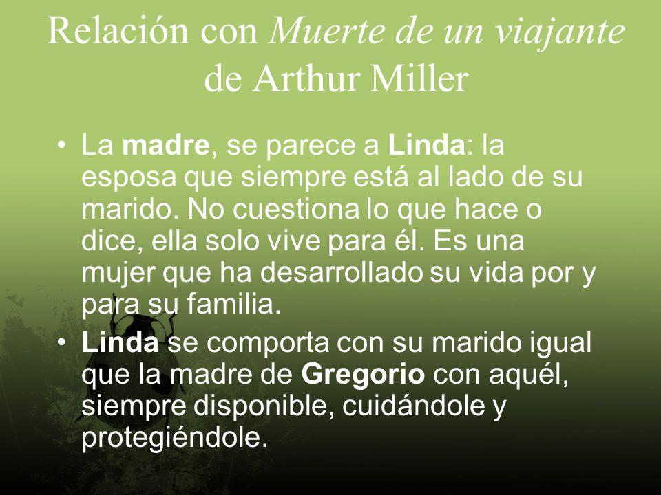 Relación con Muerte de un viajante de Arthur Miller