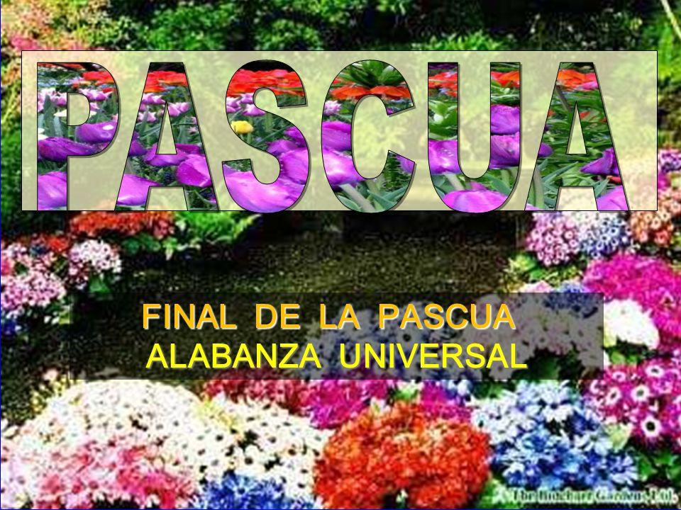 PASCUA FINAL DE LA PASCUA ALABANZA UNIVERSAL