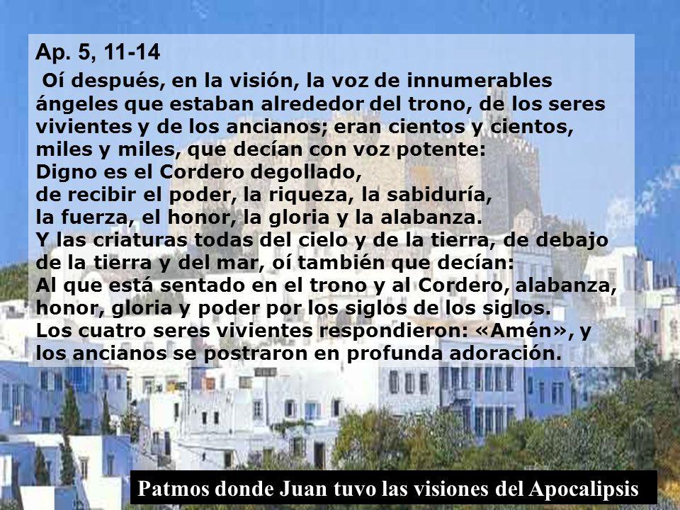 Ap. 5, 11-14